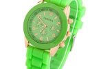 Geneva Sports Watch in Bright Green