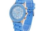 Geneva Sports Watch in Light Blue