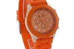 Geneva Sports Watch in Orange