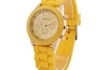 Geneva Sports Watch in Yellow