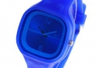 Dark Blue Jelly Watch