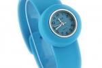Junior Slap Watch in Light Blue