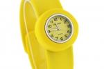 Junior Slap Watch in Yellow