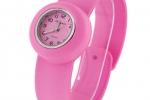 Junior Slap Watch in Light Pink