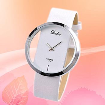 Dalas Ladies Transparent Quartz Wrist Watch