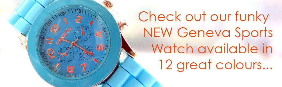 Geneva Sports Watch